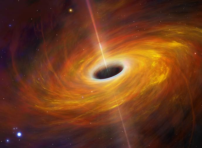 que es un agujero negro y de que esta compuesto