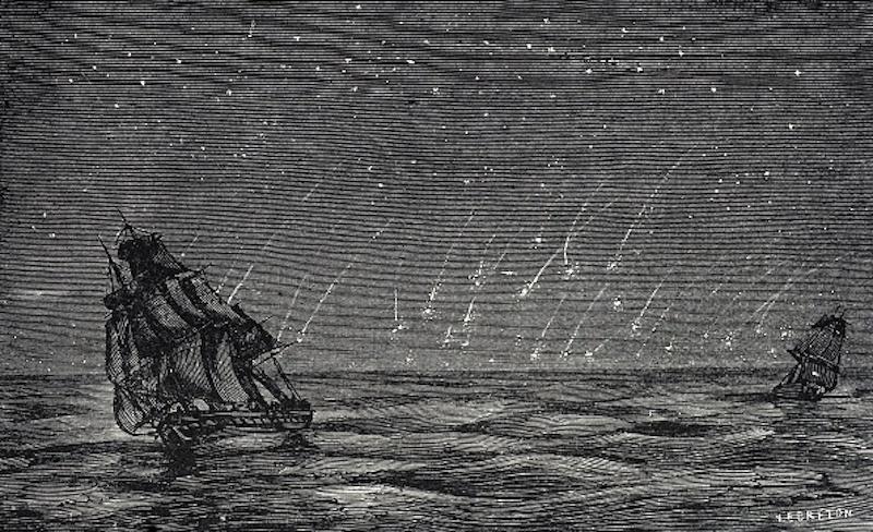 tormenta de metoros