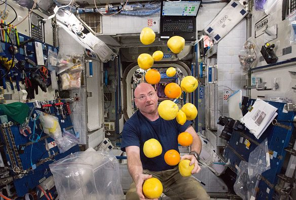 alimentos espaciales