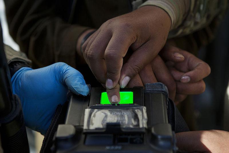 biométricos Afganistán
