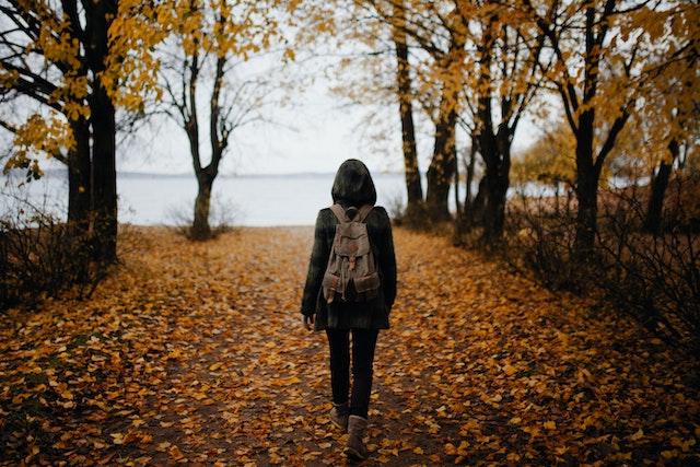caminar naturaleza