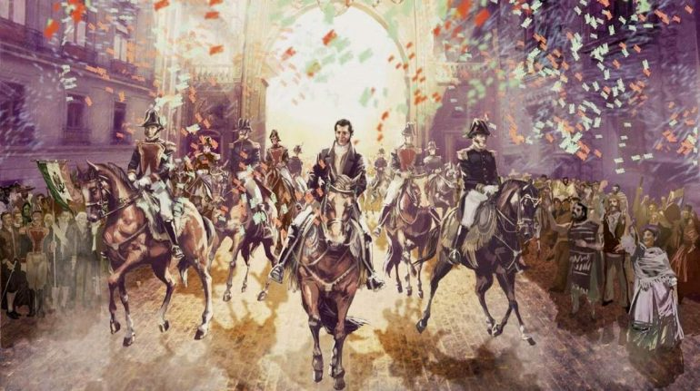 A 200 años de la entrada del Ejército Trigarante a la Ciudad de México y la consumación de la Independencia de México