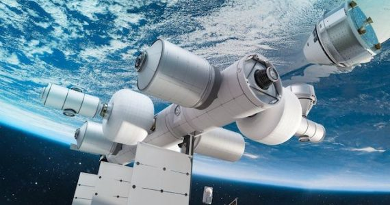 estación espacial comercial