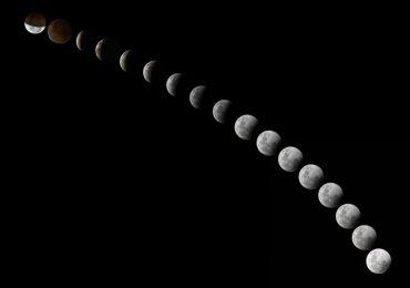 rotación Luna