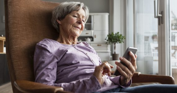 smartphone gente mayor